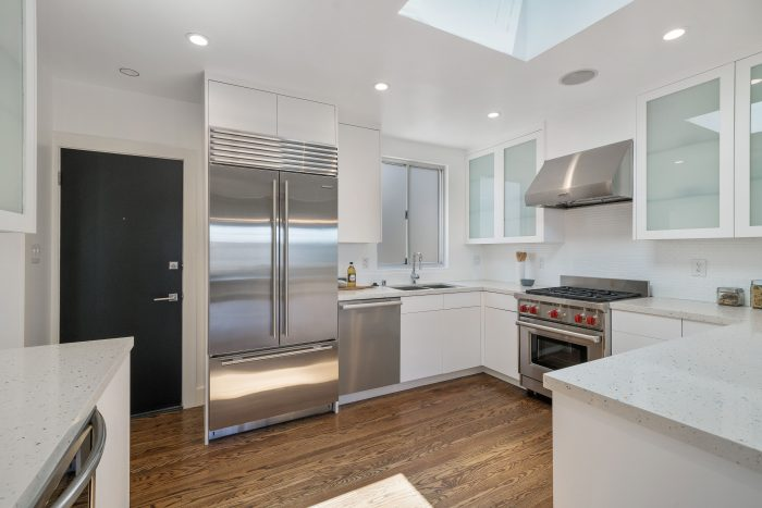 Kitchen remodel in Russian Hill.